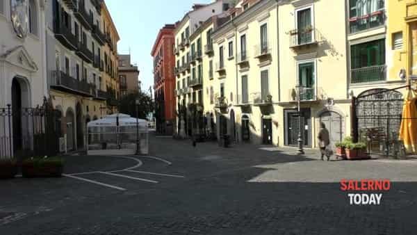 Salerno: inizia un nuovo mese con le misure anti contagio, il video