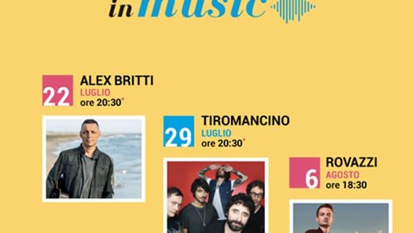 Alex Britti e Tiromancino: luglio di grandi eventi al Cilento Outlet