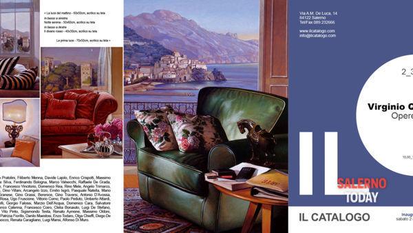 Inaugurazione mostra di Virginio Quarta alla galleria Il Catalogo a Salerno