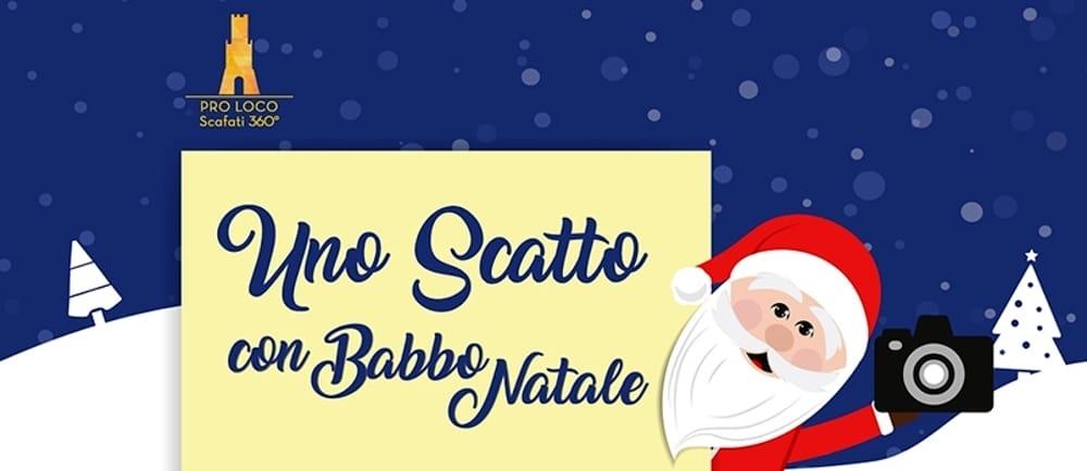 A Scafati, il 18 dicembre, slitta di Babbo Natale; lunedì 19, turista a chilometro zero