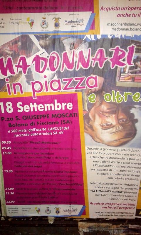 Madonnari a Bolano, domenica18 settembre
