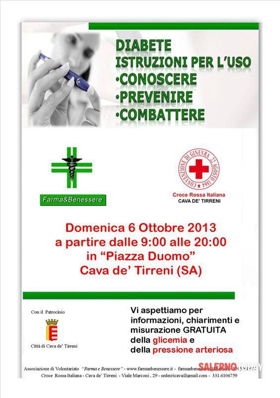 Farma E Benessere E Croce Rossa Italiana Insieme Per La Salute Giornata Della Prevenzione Del Diabete E Dell Ipertensione Segnalazione A Salerno