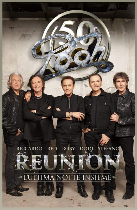 """""""Reunion"""" - Pooh in concerto il 28 e 29 ottobre ad Eboli"""