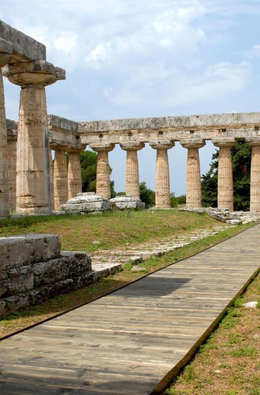 Basilica Parco Archeologico con percorso per diversamente abili