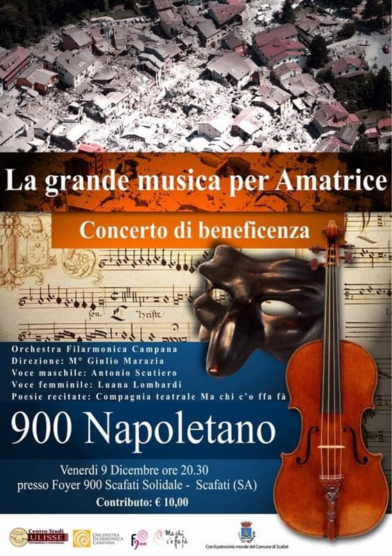 concerto di beneficenza - Auditorium Foyer