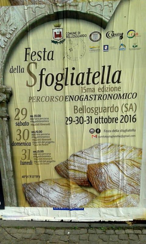 Festa della sfogliatella a Bellosguardo, 29-31ottobre