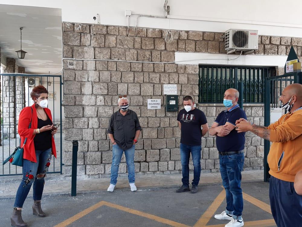 """Officine Maccaferri"""" di Bellizzi, lavoratori in sciopero: interviene il M5S  5 giugno 2020"""