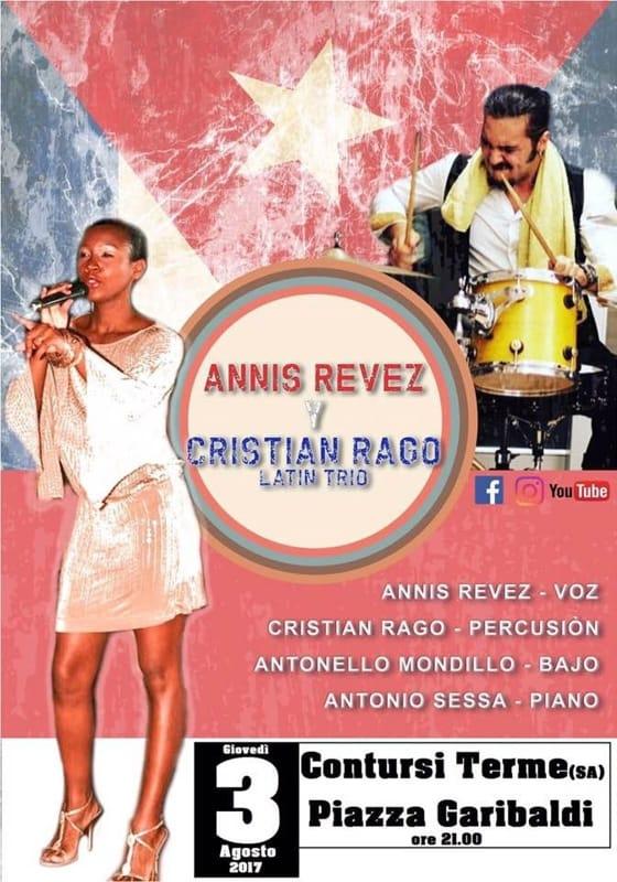 Annis Revez e Cristian Rago