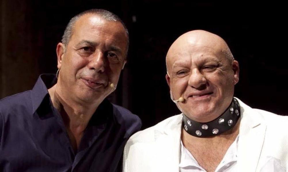 Da sinistra, Federico Salvatore e Peppe Lanzetta