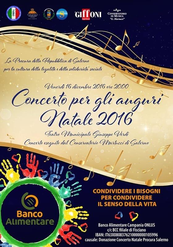 Concerto di beneficenza, venerdì 16 dicembre, Teatro Verdi
