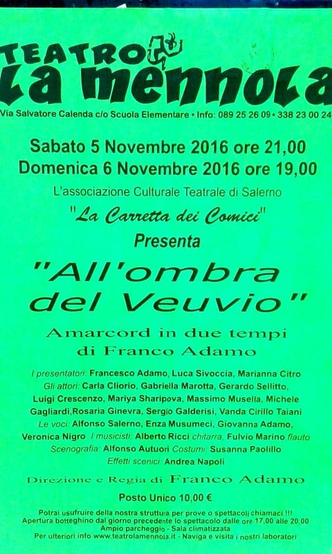 Teatro La Mennola - 5 e 6 novembre
