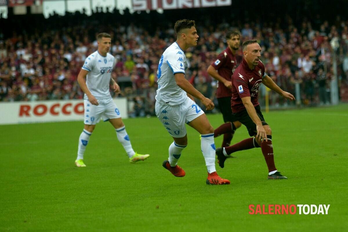 Salernitana-Empoli: il tabellino della partita