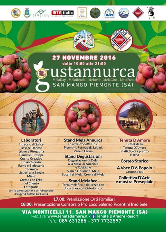 Gustannurca, 27 novembre, San Mango Piemonte