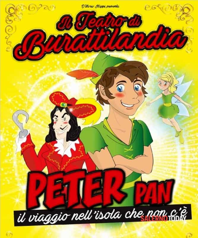 Peter Pan, spettacolo di burattini