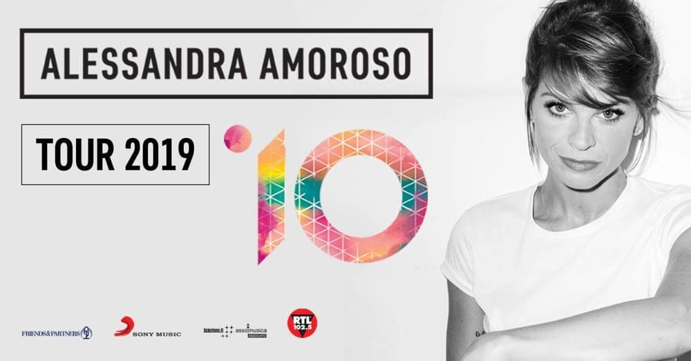 Alessandra Amoroso in concerto al PalaSele