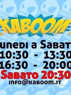 Kaboom Salerno